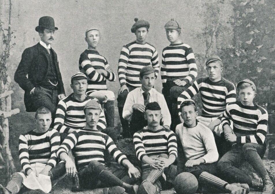 4. Het eerste potje voetbal in Nederland